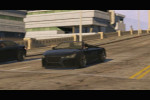 gta 5 trailer 1 black car speeding