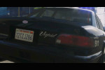 gta 5 trailer 1 rear of los santos police car