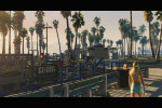gta 5 trailer 1 working out at the beach