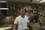 gta online gameplay getting a haircut