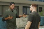 gta online gameplay lamar interacting with you
