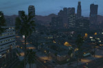 gta online gameplay view of the city