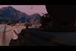 gta online heists buzzard attacking apcs