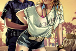 gta v poster female cops and robbers