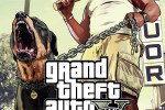 gta v poster thug with rottweiler