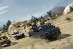 official screenshot gtao vehicle shootout in the desert