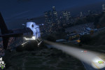 official screenshot lspd chopper chasing a green infernus
