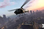 official screenshot lspd helicopter over los santos