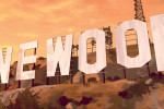vinewood sign background