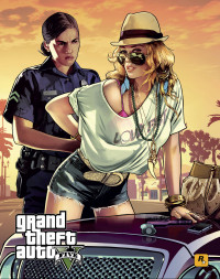GTA 5 female cop and robber