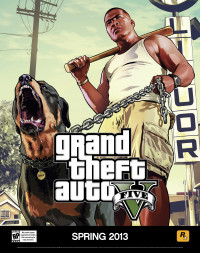 GTA 5 thug with dog