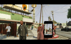 fake gta v phone screenshot by lineemup504