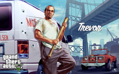 official artwork trevor with van