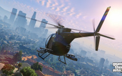 official screenshot buzzard flies over los santos