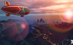 official screenshot xero blimp taking the skies