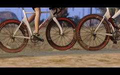 trailer 6 bicycle race in the desert