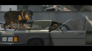 Trailer 2 - Scene 28: Dog Chasing him down