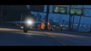 Trailer 2 - Scene 31: South to the Del Perro Freeway