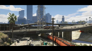 Trailer 2 - Scene 3: Train under the overpass