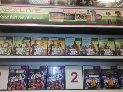GTA 5 temporary box arts