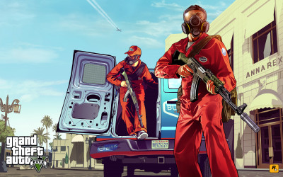 GTA 5 Official Artwork Pest Control