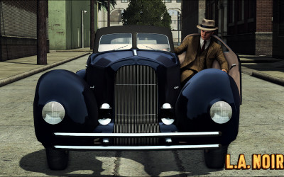 Car Collecting In LA Noire