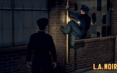 Cole Phelps Climbing in LA Noire