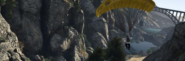 GTA 5 Parachute