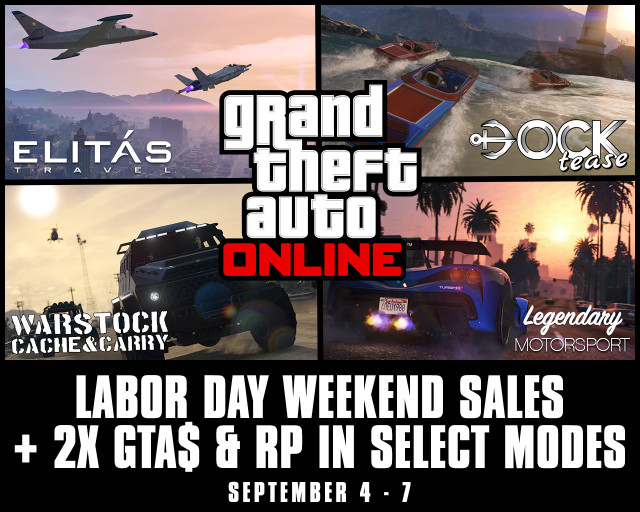GTA Online Labor Day
