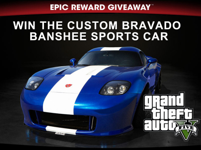 GTA 5 2013 Bravado Banshee Giveaway