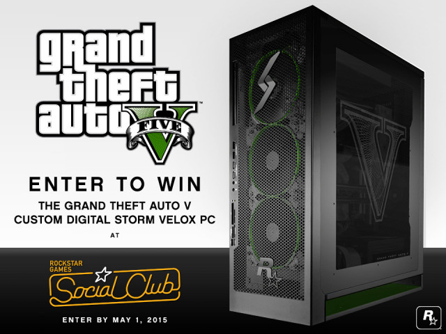 & Rockstar Sweepstakes: Custom Digital Storm Velox PC