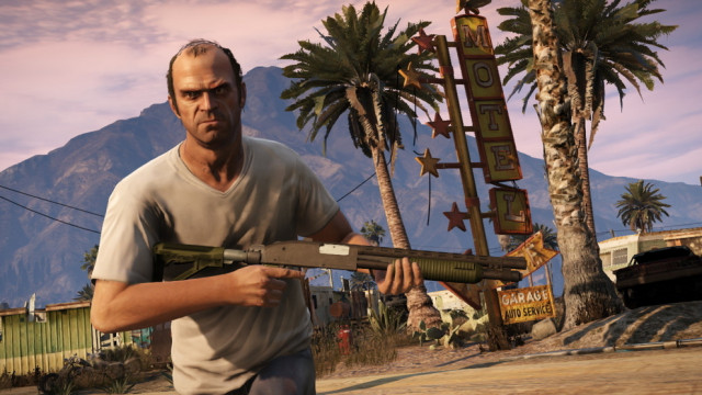 GTA 5 Trevor in Sandy Shores