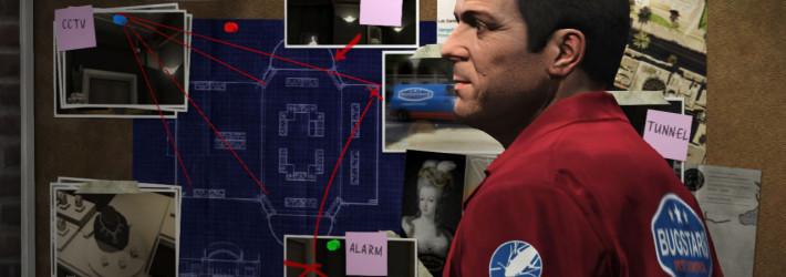 GTA 5 planning the bugstars heist