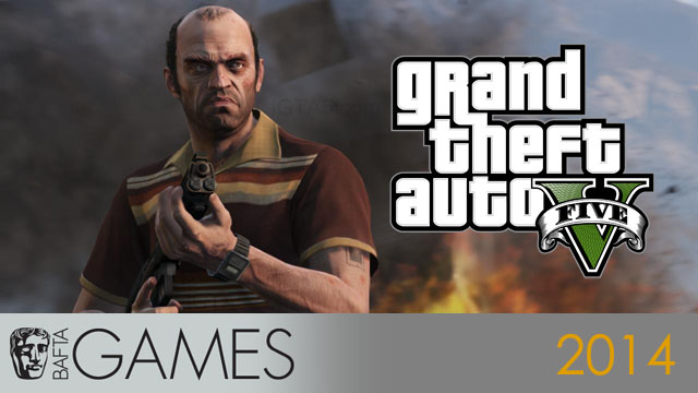 GTA 5 BAFTA Game Awards 2014