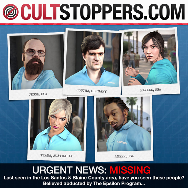 GTA 5 Cult Stoppers
