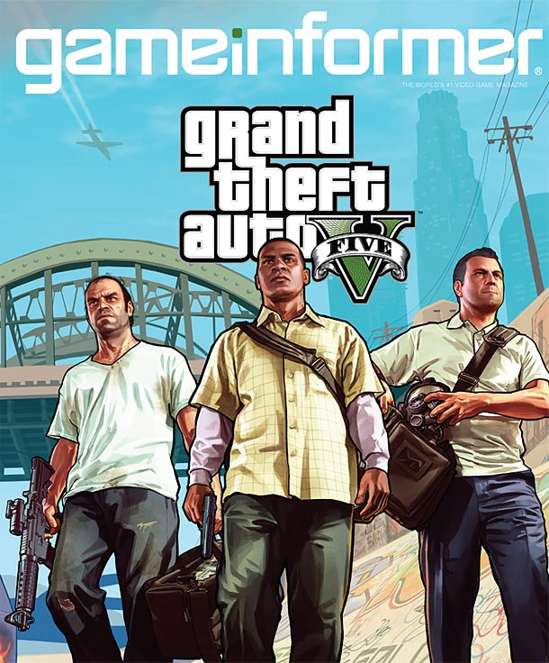 GTA 5 Game Informer December Cover