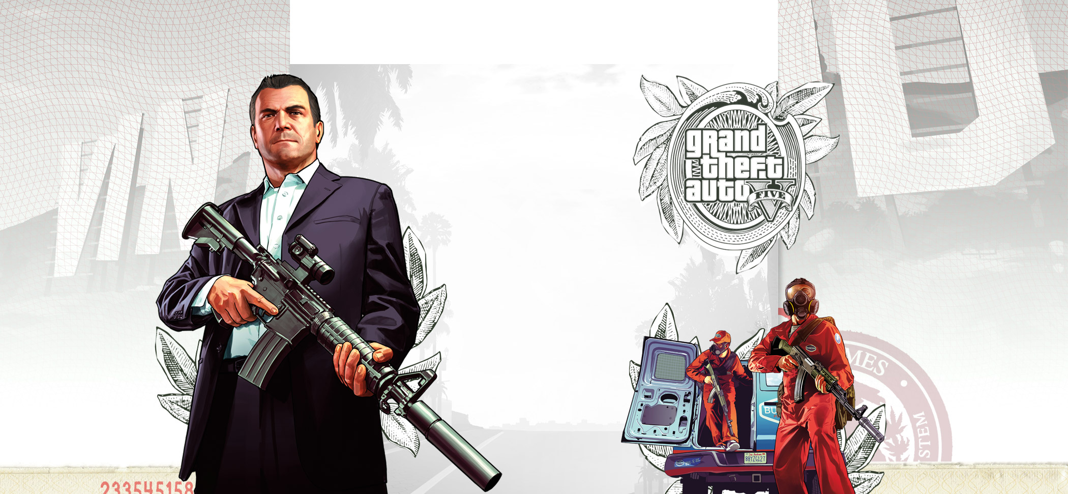 GTA 5 Game Informer December Cover
