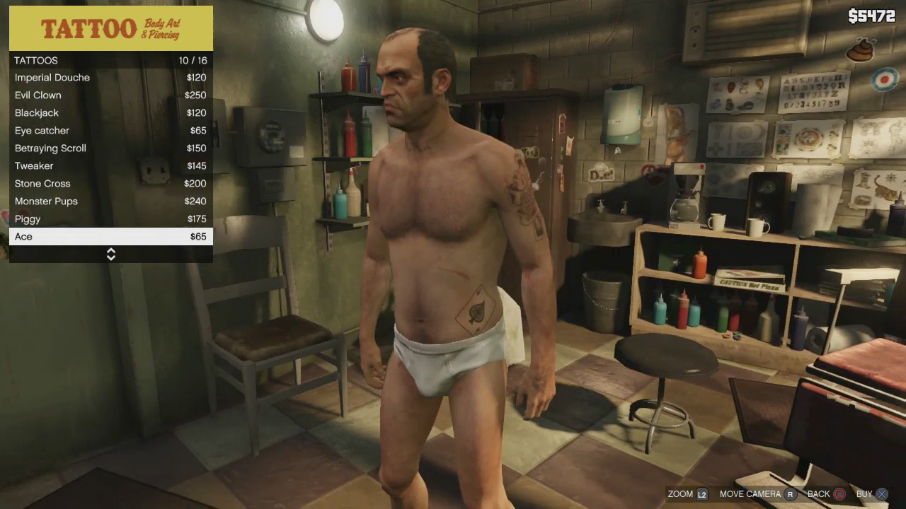 You are able to change clothing  get haircuts  and even get tattoos Gta 5 Custom Characters