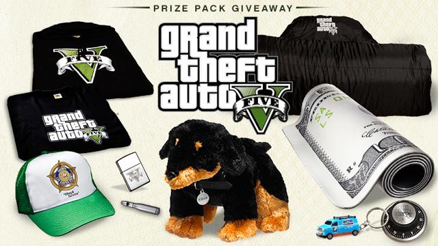 GTA 5 Prizes