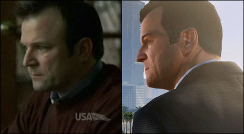 Ned Luke GTA 5 Main Character