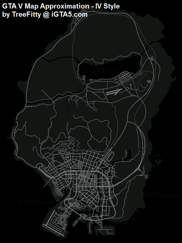 More GTA 5 Advertisements and Fan Maps