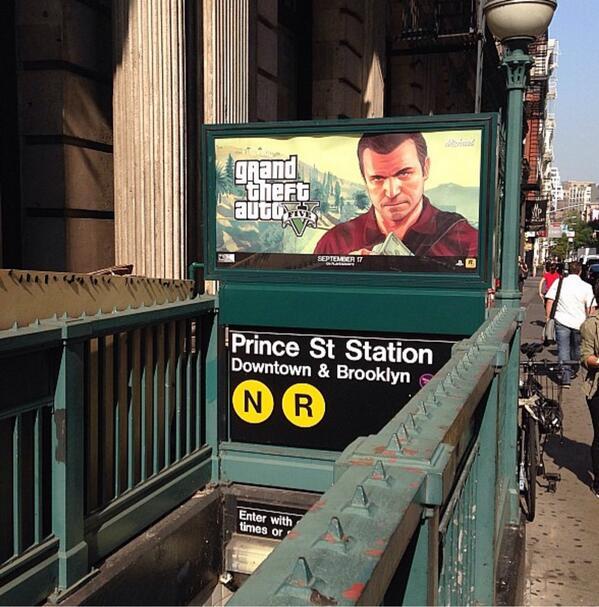 Gta V Advertisements All Around The World