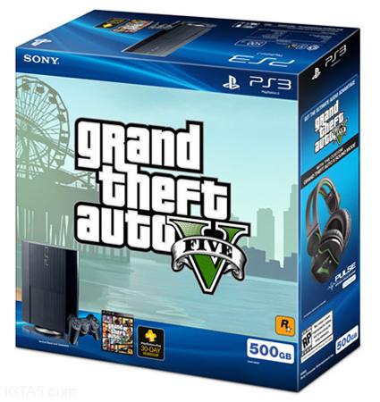 GTA 5 PS3 Bundle