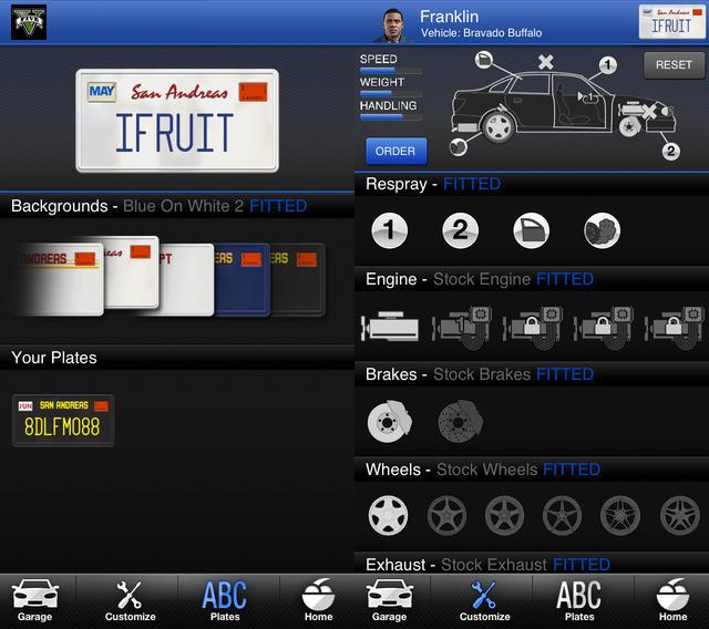 GTA 5 iFruit App