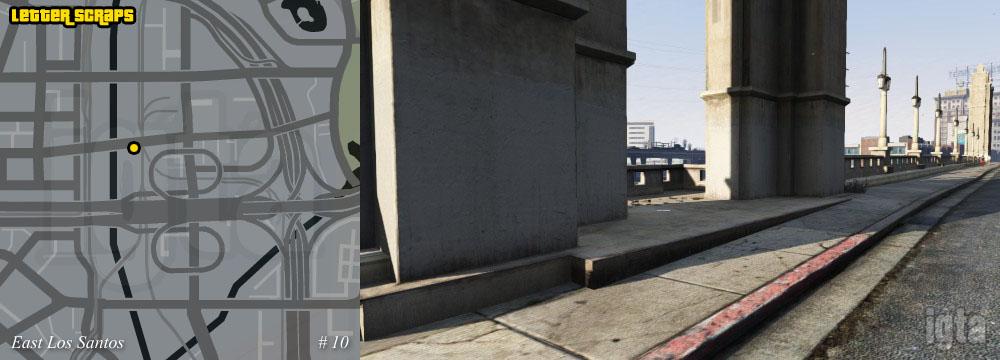 Gta  Letter Scraps Ls Bridge
