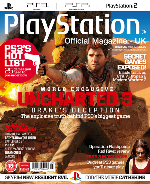 Official Playstation Magazine UK May 2011
