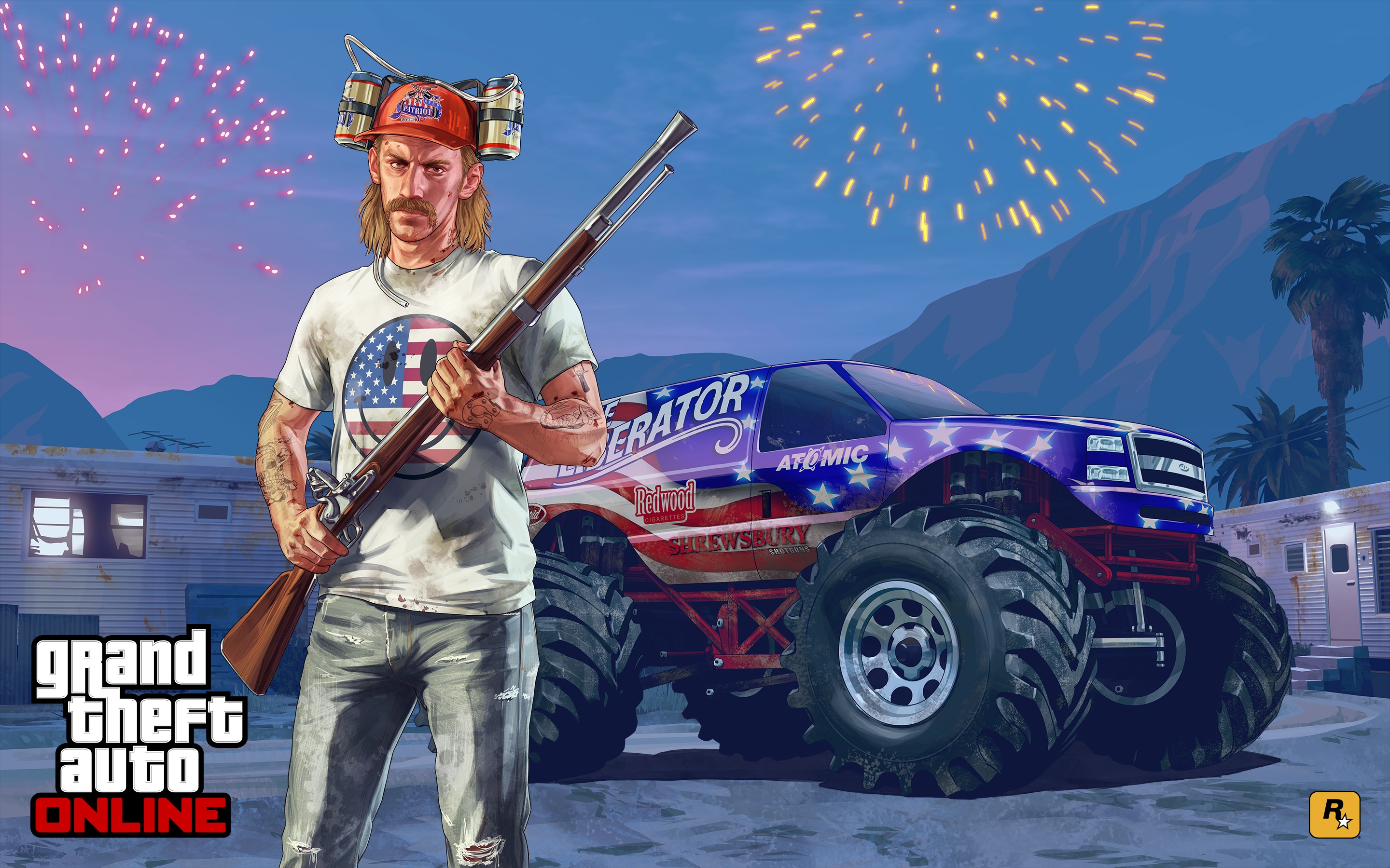 Official gta 5 artwork official artwork independence day voltagebd Image collections