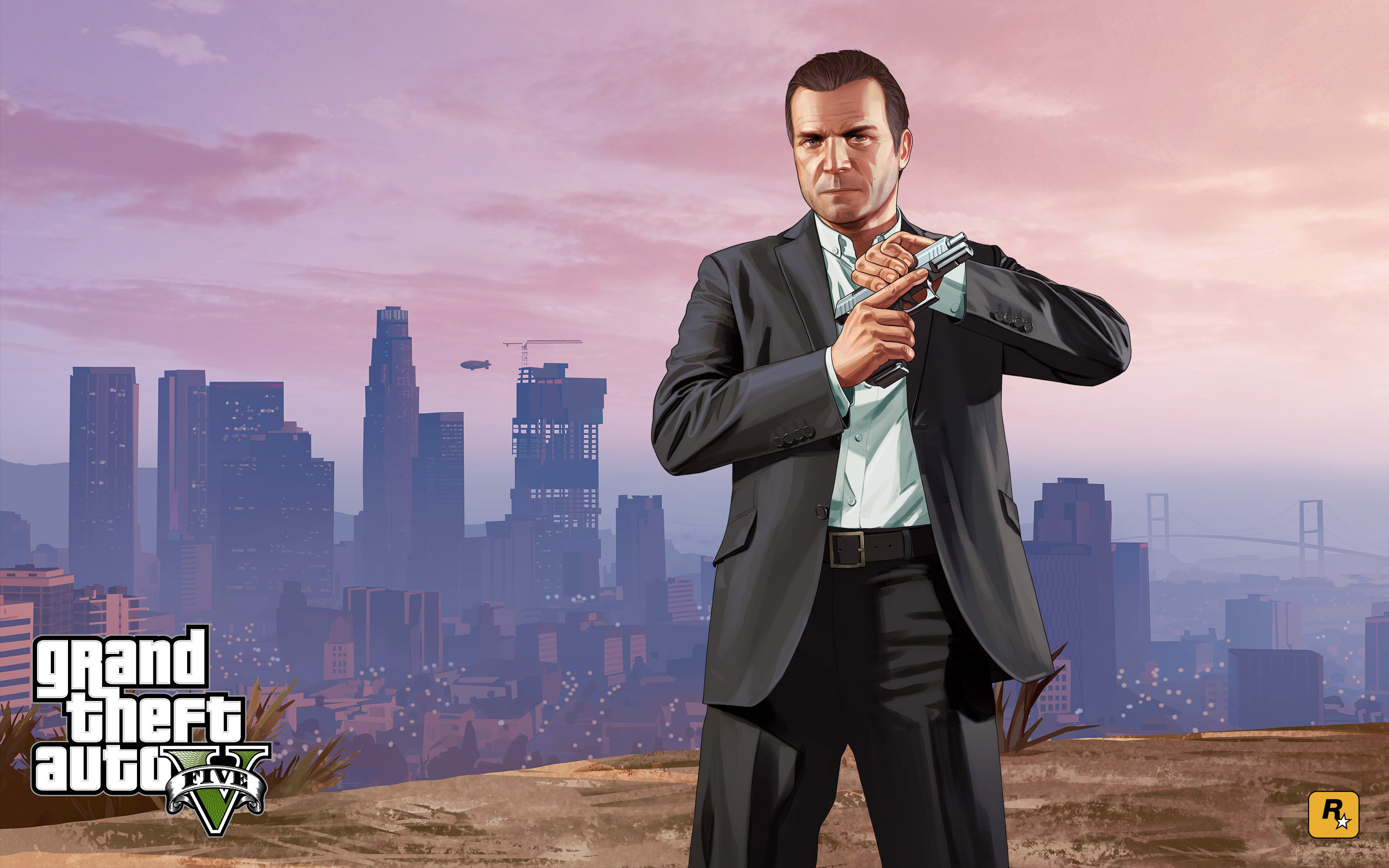 Official GTA 5 Artwork