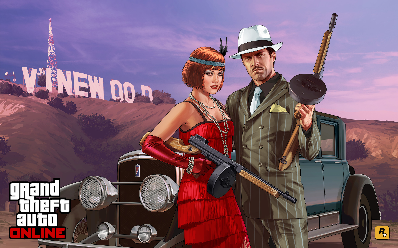 Official GTA 5 Artwork