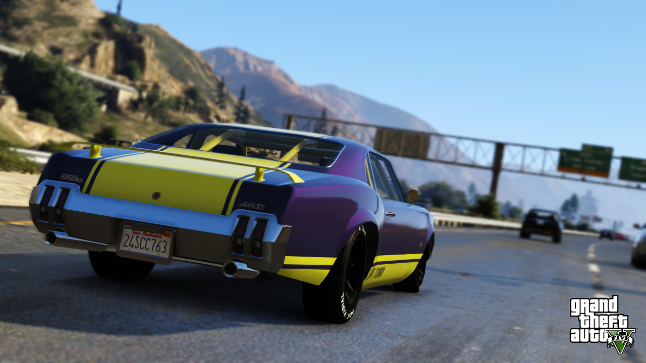12 New GTA V Screens: The Fast Life